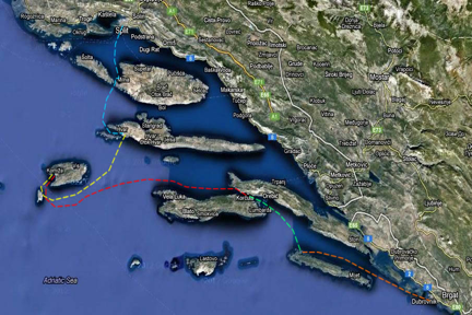 Itinerary_Split_to_Dubrovnik_147Nm