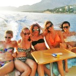 Girls just want to have fun on a day cruise with Motor Yacht, Makarska