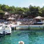 Famous Palmizana bay on Pakelani Islands, Hvar area