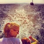 Mother & Child, enjoying Spring sailing
