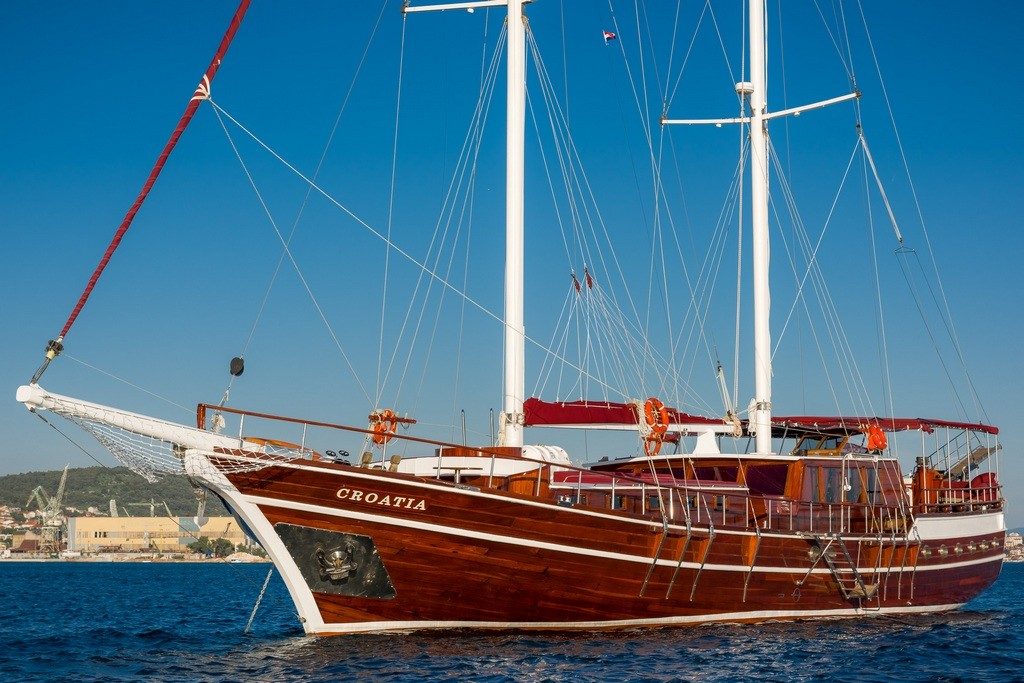 Croatia_Anchorage_FromABow_CroYachting