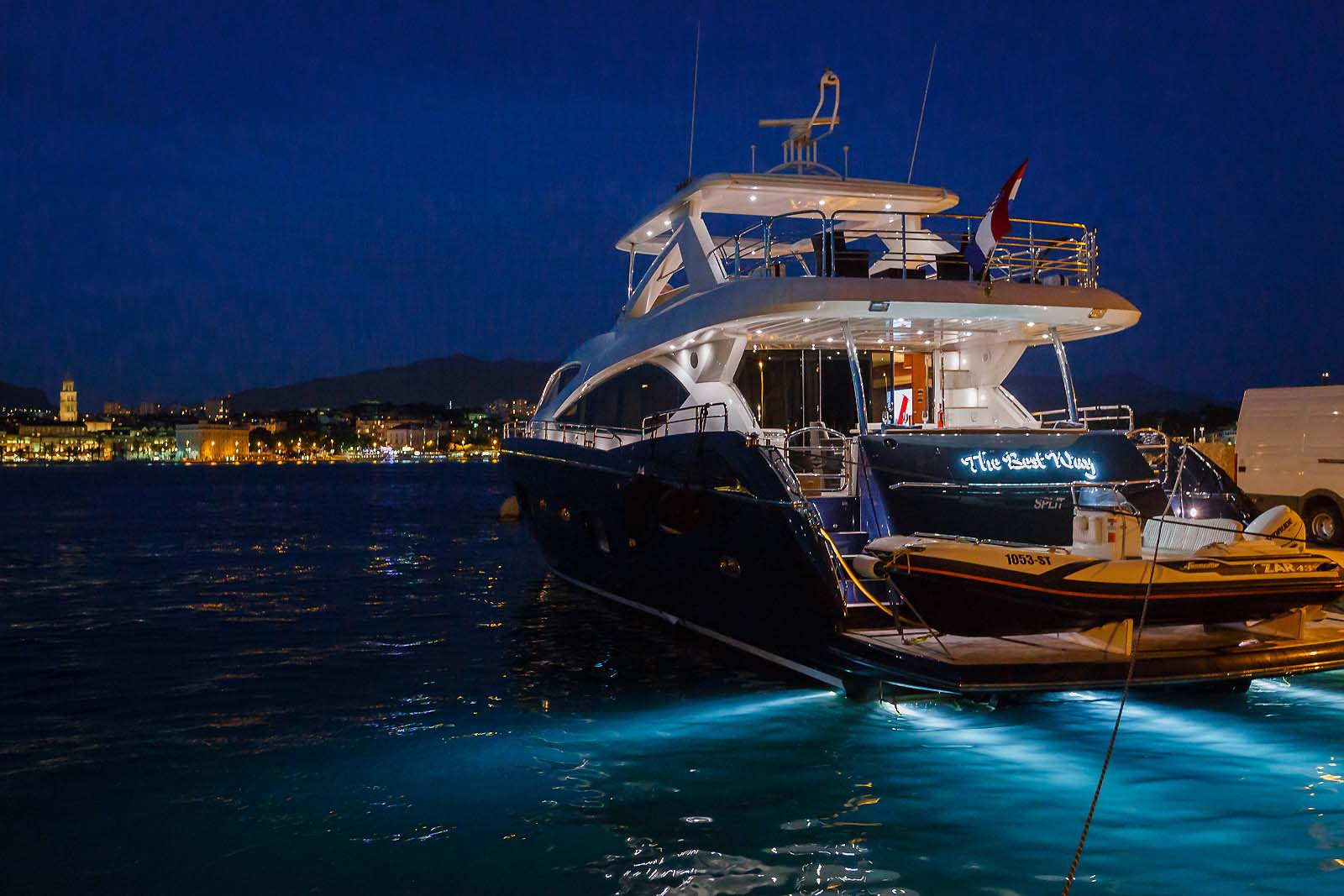 Sunseeker 86 yacht and boat charters rentals in croatia for Pensacola party boat fishing