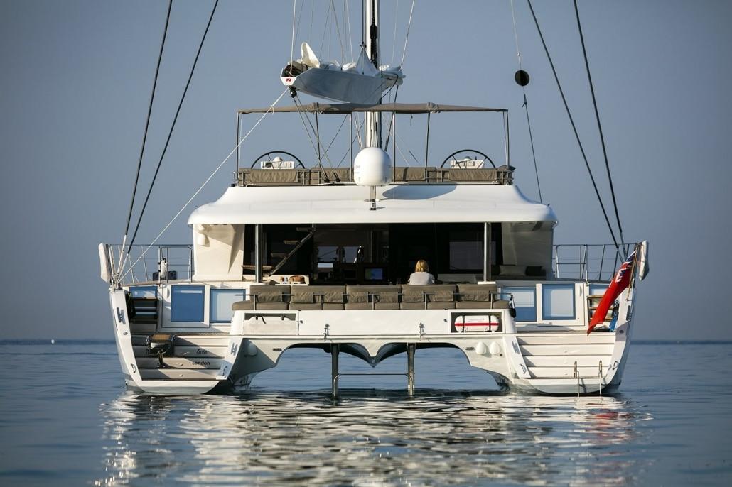 Lagoon 620 Twin - Luxury Crewed Catamaran for hire in Adriatic