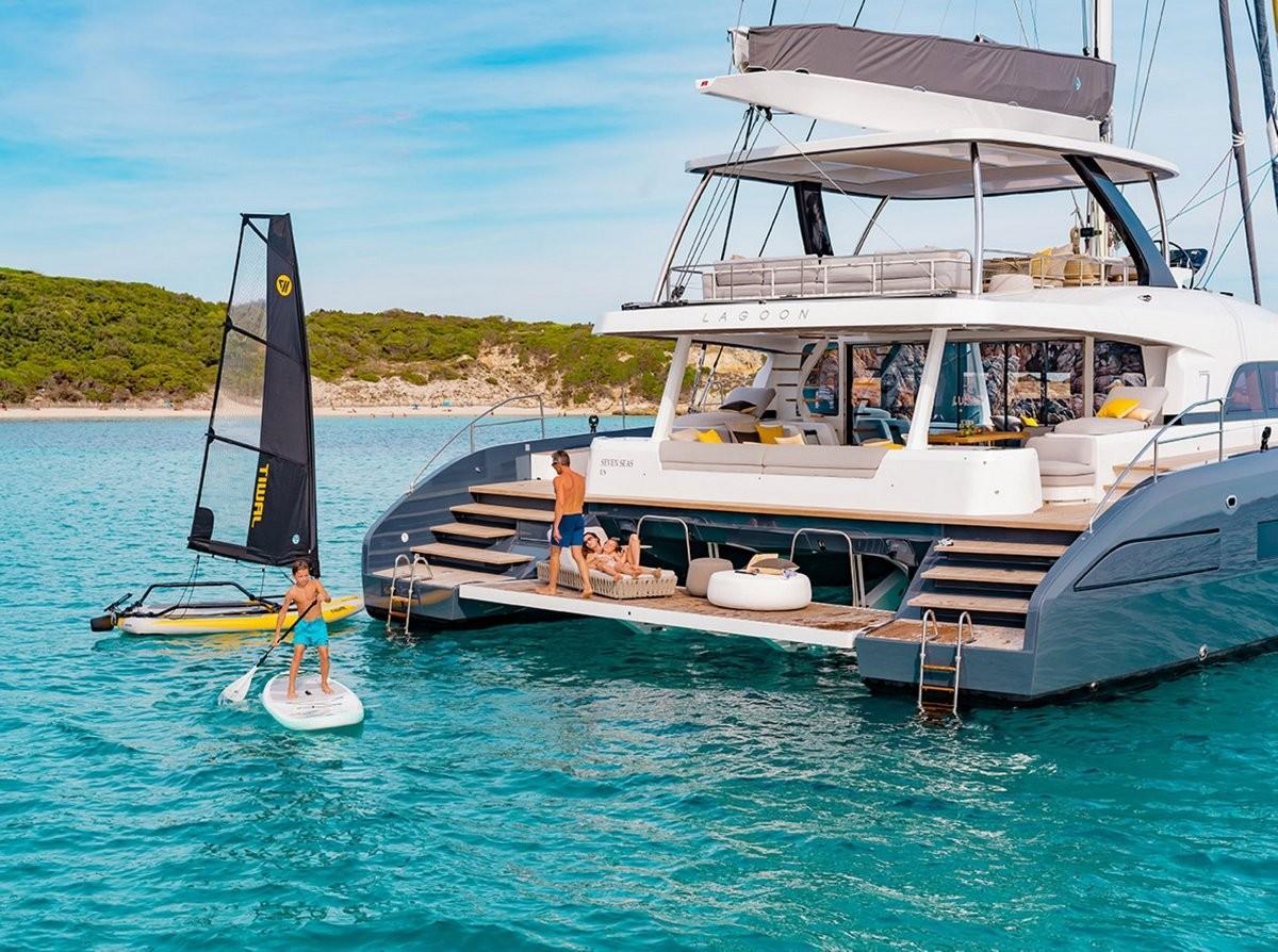 Lagoon 77 - Luxury Crewed Catamaran for hire in Adriatic